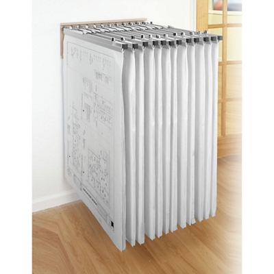 Wall Rack for Large Document Storage