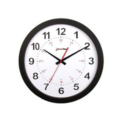 "Pluto 12"" Plastic Synchronized Clock"