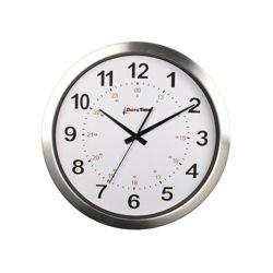"Europa 12"" Aluminum Synchronized Clock"
