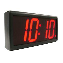 Wireless Digital LED Synchronized Clock with Master Clock Transmitter