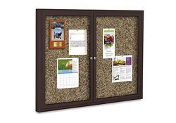 "48"" x 36"" Outdoor Rubber Bulletin Board"
