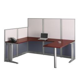 U Workstation w/Panels