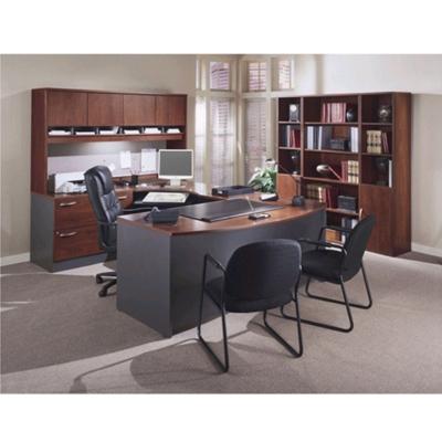 Complete Office Group U-Desk with Left Bridge