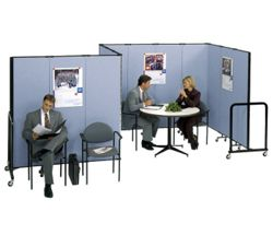 "6' 8"" High Room Dividers Set Of 13"