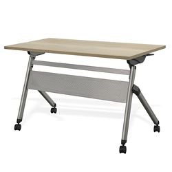 """At Work Flip Top Training Table 48""""W x 24""""D"""