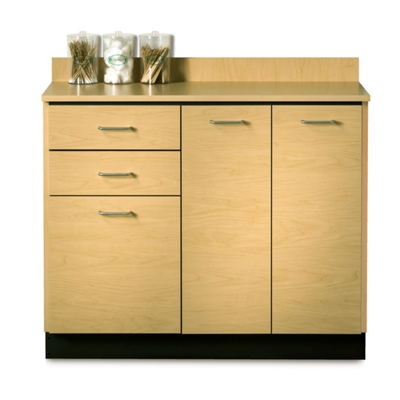 "Two Door Base Cabinet with Two Drawers - 42""W"