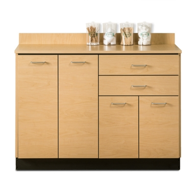 """Four Door Base Cabinet with Two Drawers - 48""""W"""