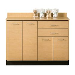 "Four Door Base Cabinet with Two Drawers - 48""W"