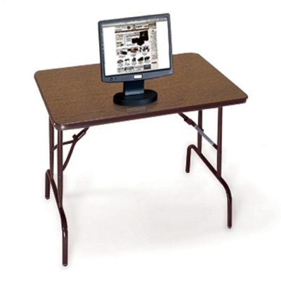 "Compact Folding Table - 36"" x 24"""