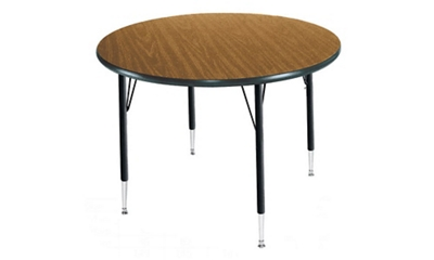 Adjustable Height Round Table.Adjustable Height Round Table 60 Diameter By Correll Nbf Com