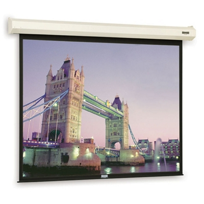 "92"" W x 69"" H Electric Lift Video Format Presentation Screen"