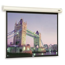"116"" W x 87"" H Electric Lift Video Format Presentation Screen"
