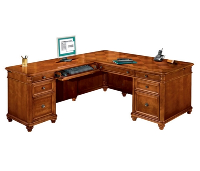 Executive L Desk with Left Return