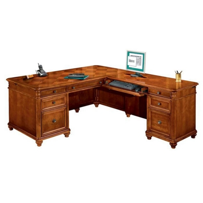 Executive L Desk with Right Return