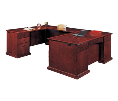 Executive U-Shape Desk with Left Return