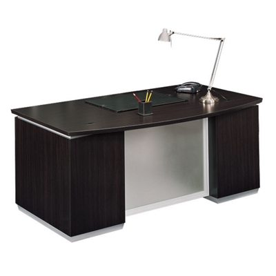 Bowfront Executive Desk