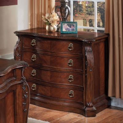 Two Drawer Lateral File with Wood Top