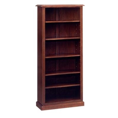 """Traditional Mahogany Bookcase - 72""""H"""