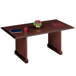 "Traditional Mahogany Conference Table - 72"" x 36"""