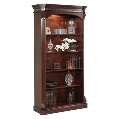 Old-World Five Shelf Bookcase