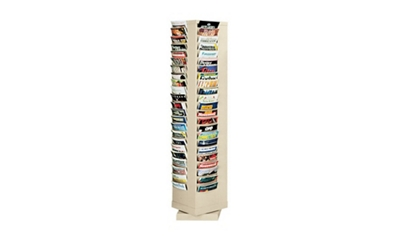 Steel Rotary Literature Rack 80 Pocket