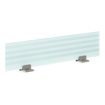 """60"""" Wide Frosted Glass Privacy Panel"""