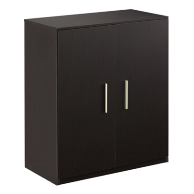 At Work Storage Cabinet with Wood Doors