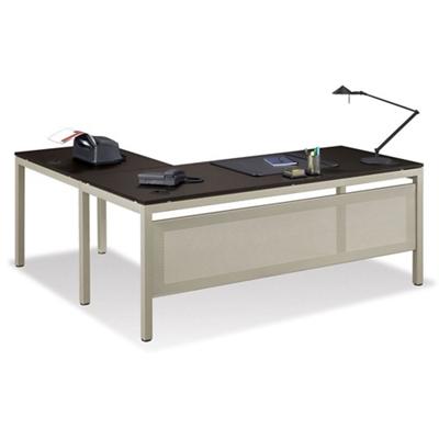 "At Work 72""W x 60""D Reversible L-Desk"