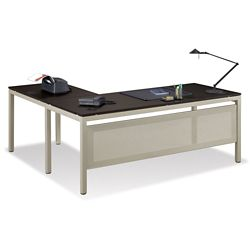 "At Work 72""W x 60""D Reversible L-Desk"