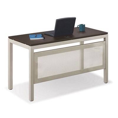 "Table Desk with Modesty Panel 48""Wx24""D"