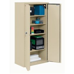 "72"" High Fireproof Storage Cabinet"