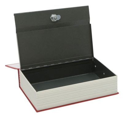 Disguised Book Safe with Key Lock