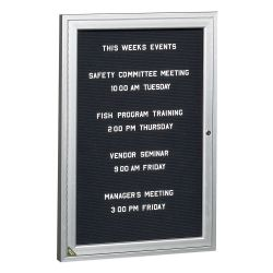 "Indoor Directory Board 24""W x 36""H"