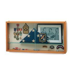 Wall Mounted Specialty Display Case