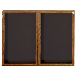 "Indoor Directory Board 60""W x 36""H Wood Frame"
