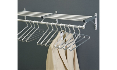 "Coat Rack with Shelf 30"" Wide"