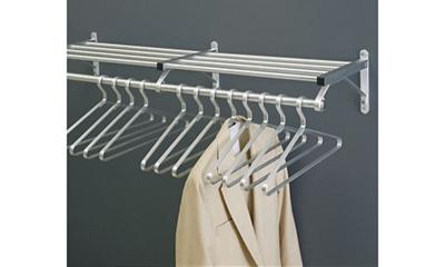 """Coat Rack with Shelf 36"""" Wide"""