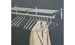 """Coat Rack with Shelf 54"""" Wide"""