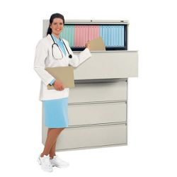 "42"" Wide Four-Drawer Lateral File"