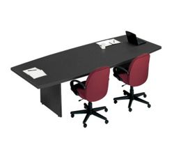 10' Boat-Shaped Conference Table