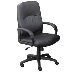 Lucia Bonded Leather Conference Chair