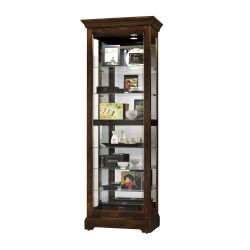 Display Cabinet with Mirrored Back