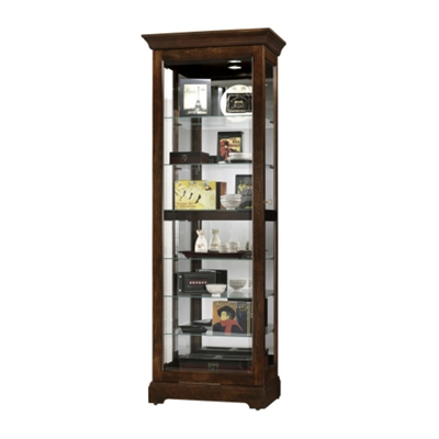 Howard Miller Curio Cabinet With Slding Glass Front | 680 469/471 |  NationalBusinessFurniture.com