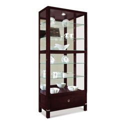 Williamson Display Cabinet with Built-In Lighting