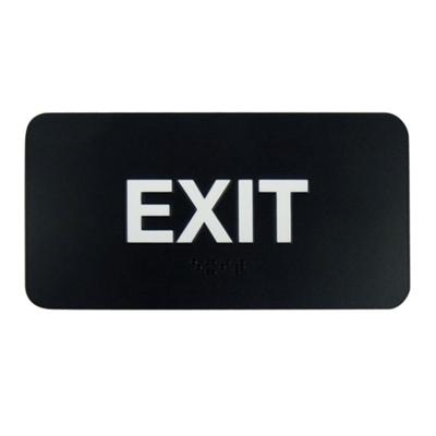 "Exit Sign - 8""W x 4""H"
