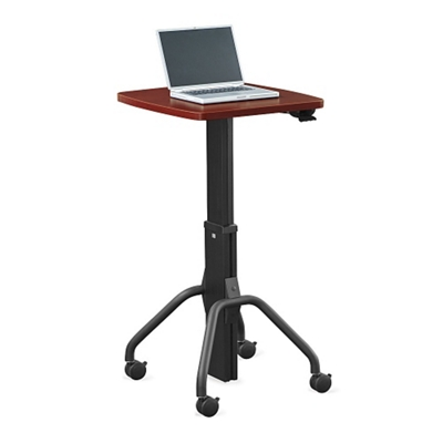 """Adjustable Height Gas Lift Table - 24""""W"""