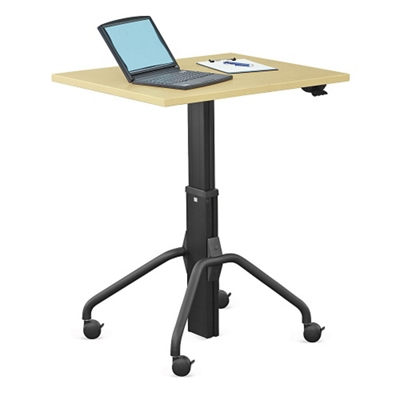 """Adjustable Height Gas Lift Table - 36""""W"""