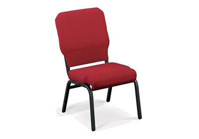 Armless Vinyl Ganging Stack Chair - 400 lb Weight Capacity