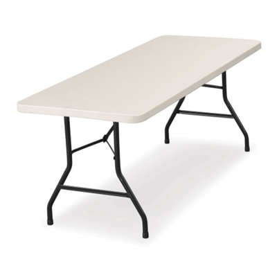 "Lightweight Rectangular Folding Table - 96"" x 30"""