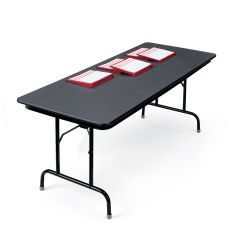 "30"" x 96"" Adjustable Height Folding Table"